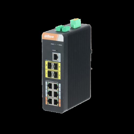 Picture of Dahua PFS4410-6GT-DP 10 Port Gigabit Switch 6 Port Poe' li