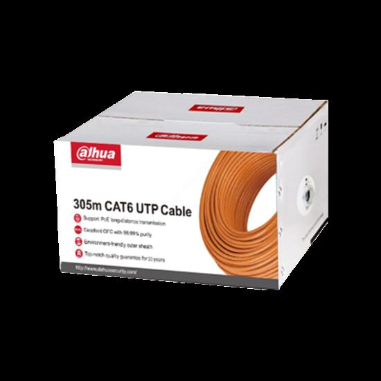 EZ-IP PFM920I-6UN 305m UTP CAT6 Kablo resmi